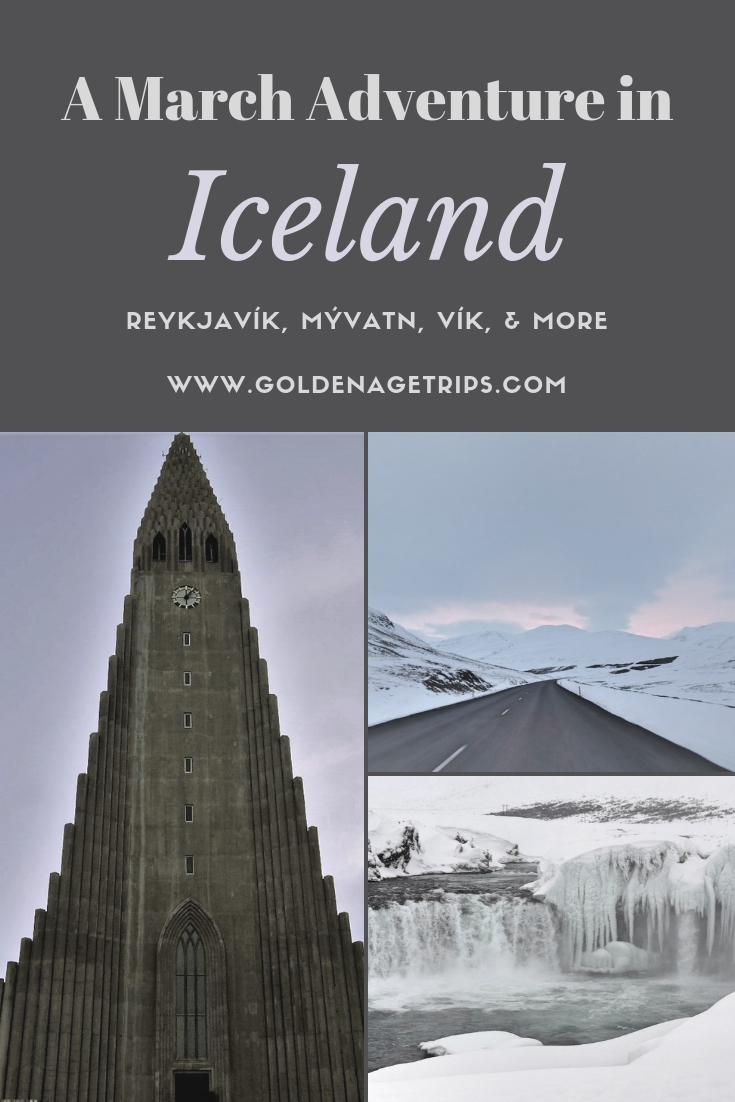 Wondering what to expect druing a trip to Iceland in March? Come with us to read about things to do, eat, and where to stay in Iceland in March. #iceland #icelandinmarch #reykjavik #vik #selfoss #blonduos #myvatn