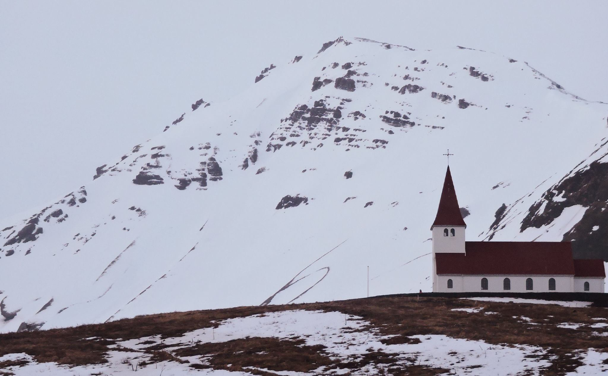 Vik Church Iceland