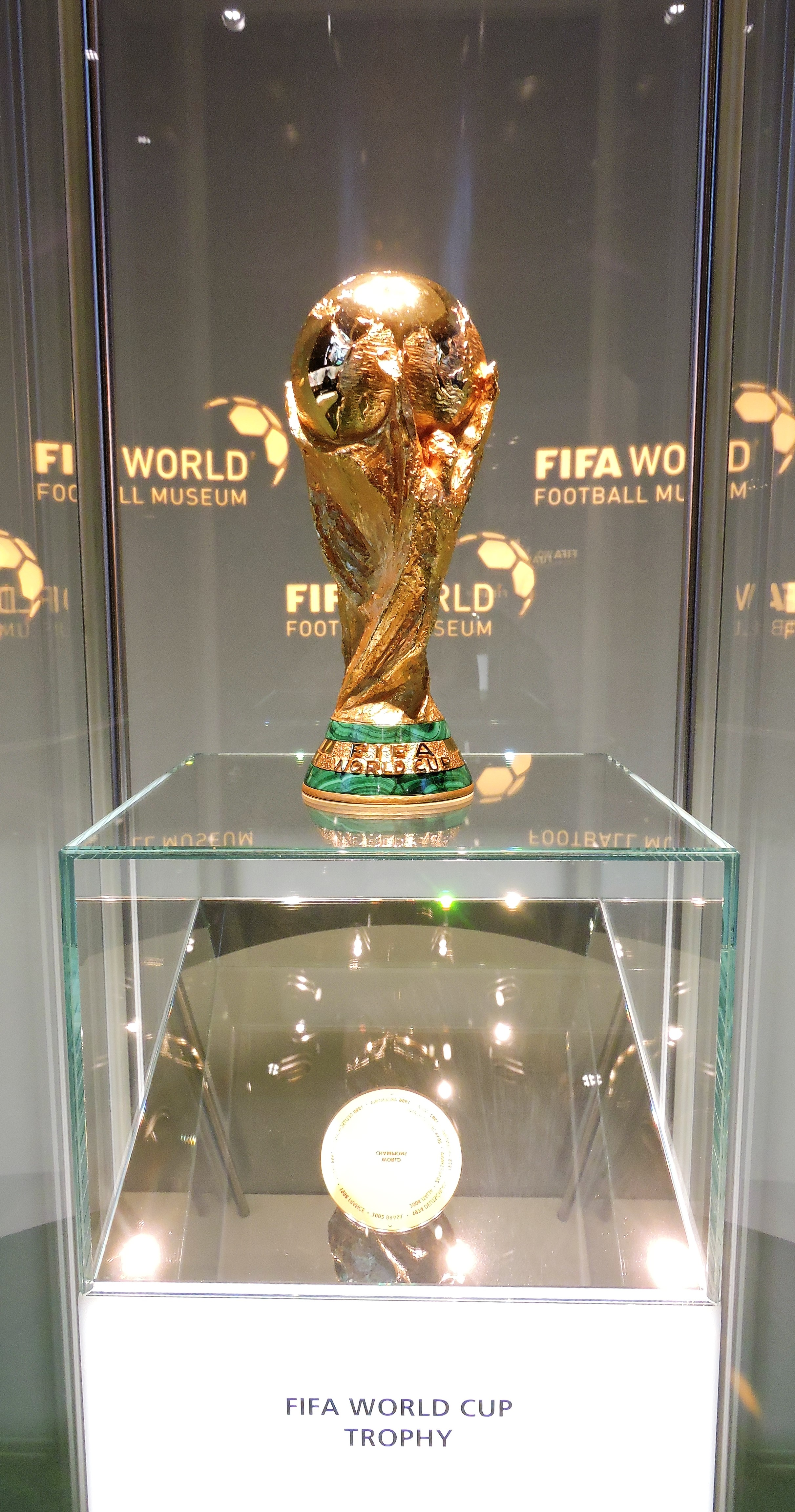 FIFA World Cup Trophy Zurich Museum