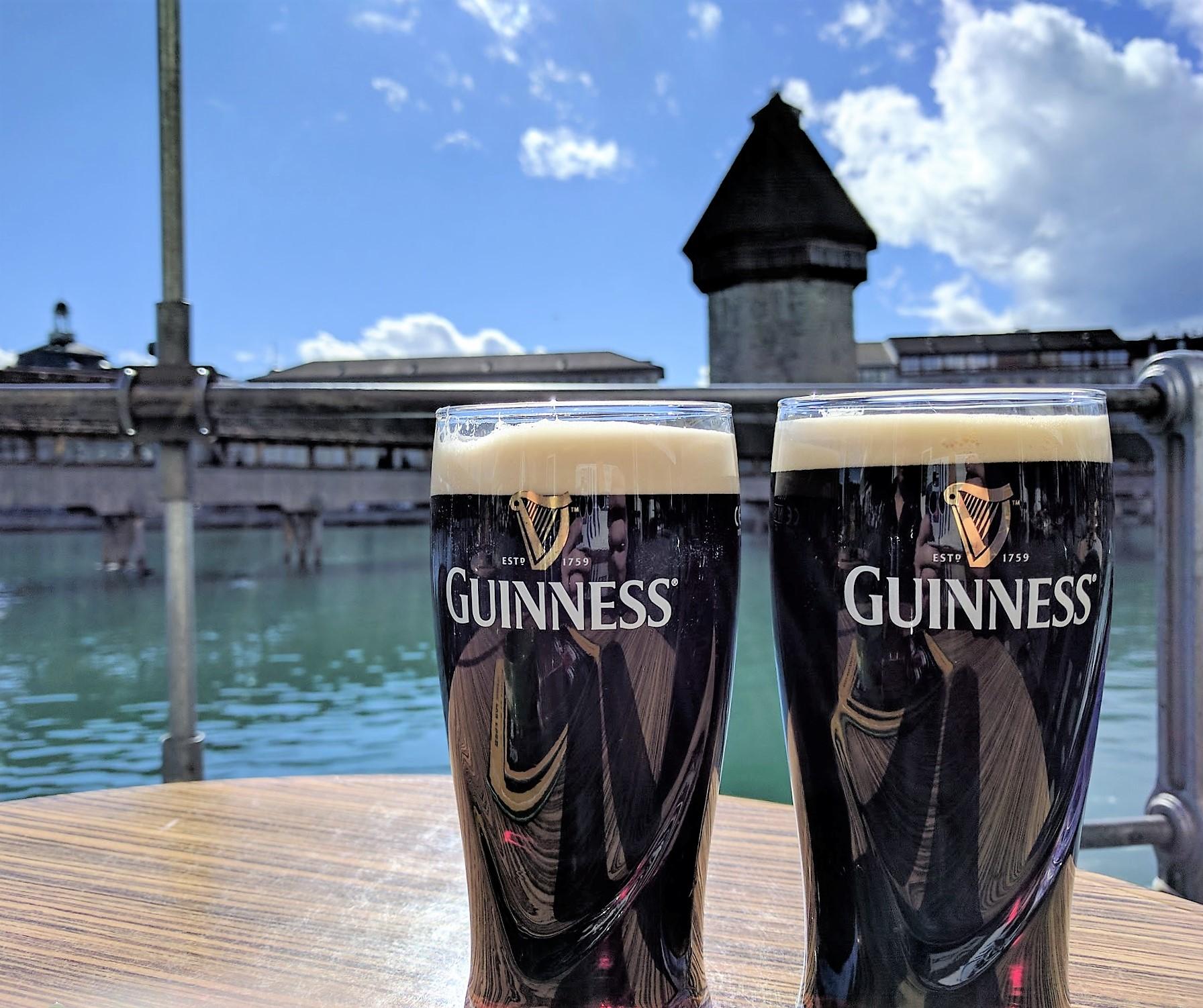 Kappelbrucke Guinness