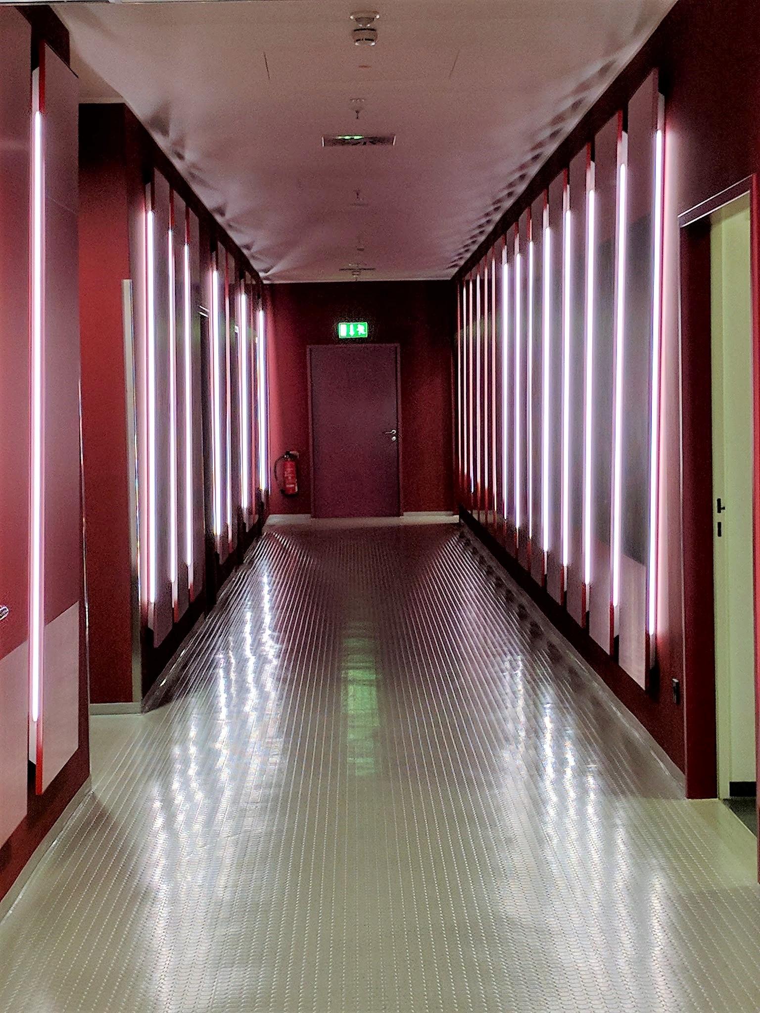 Bayern Munich Hallway