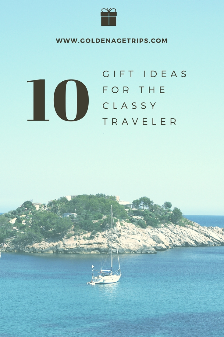 Know someone who is retiring and is going to start traveling? Here is a list of 10 Gifts for Senior Travelers for every taste and budget.
