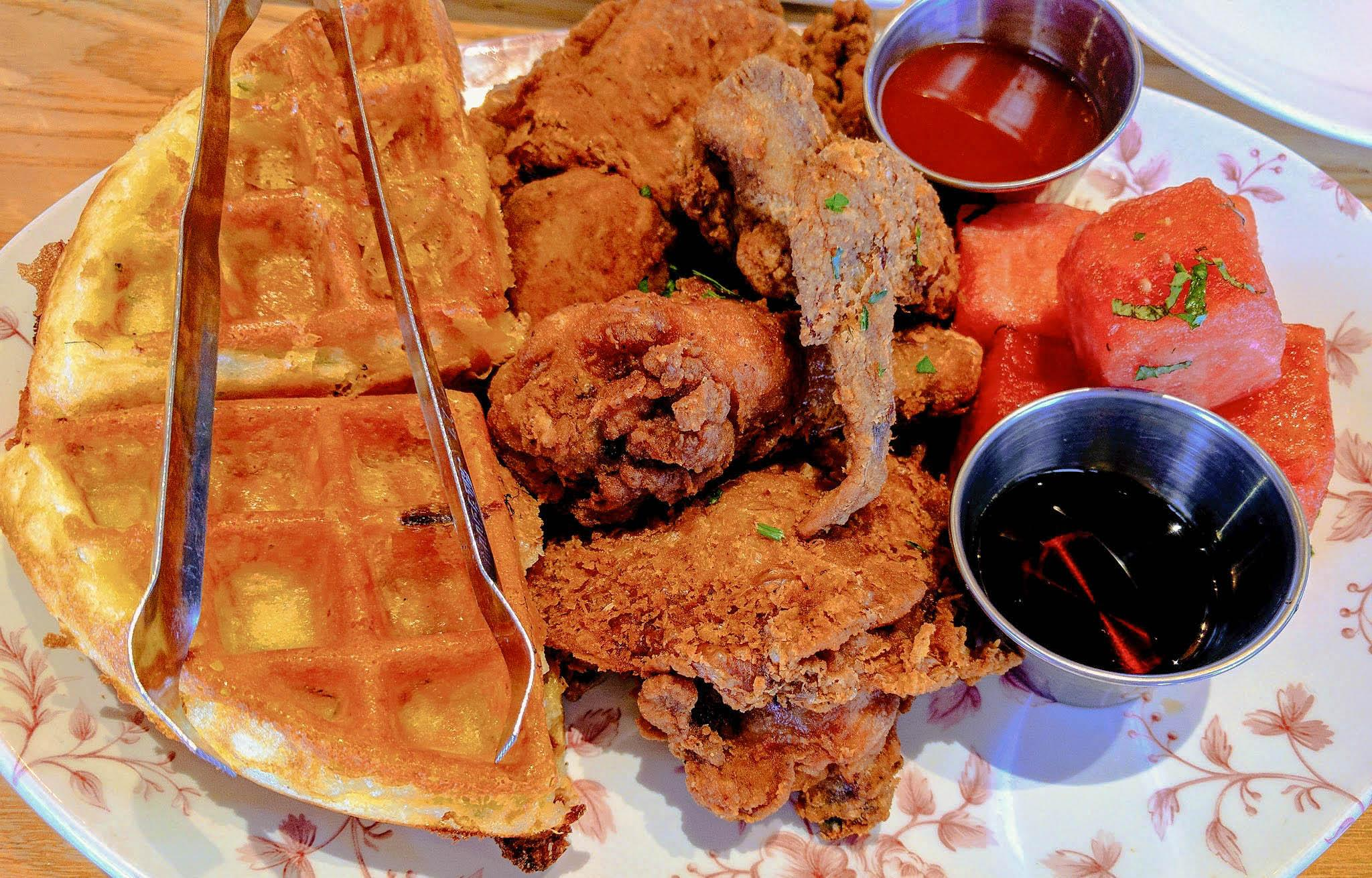 Yardbird Southern Kitchen and Bar Fried Chicken and Waffles
