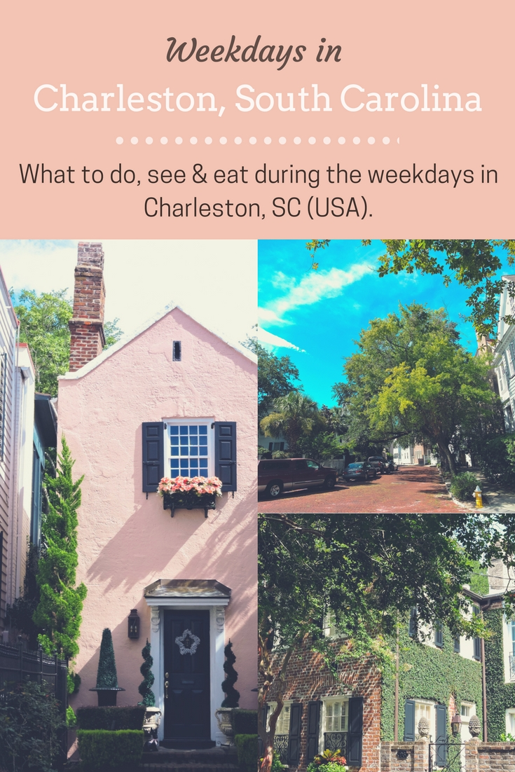 It is no secret how popular Charleston is becoming. To avoid crowds, we'll give you ideas on what to do, see, and eat during the weekdays in Charleston, SC.
