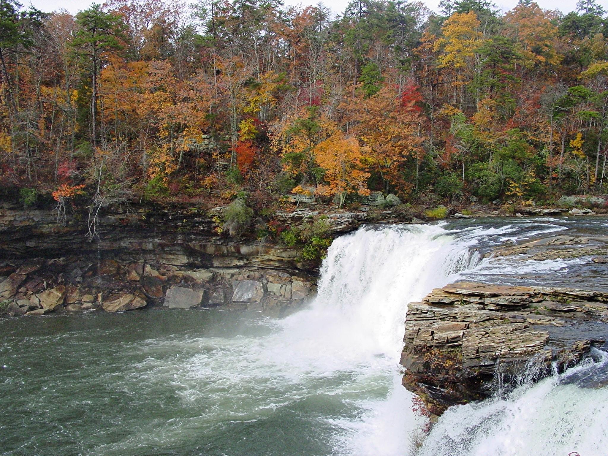Little River Falls Little River Canyon
