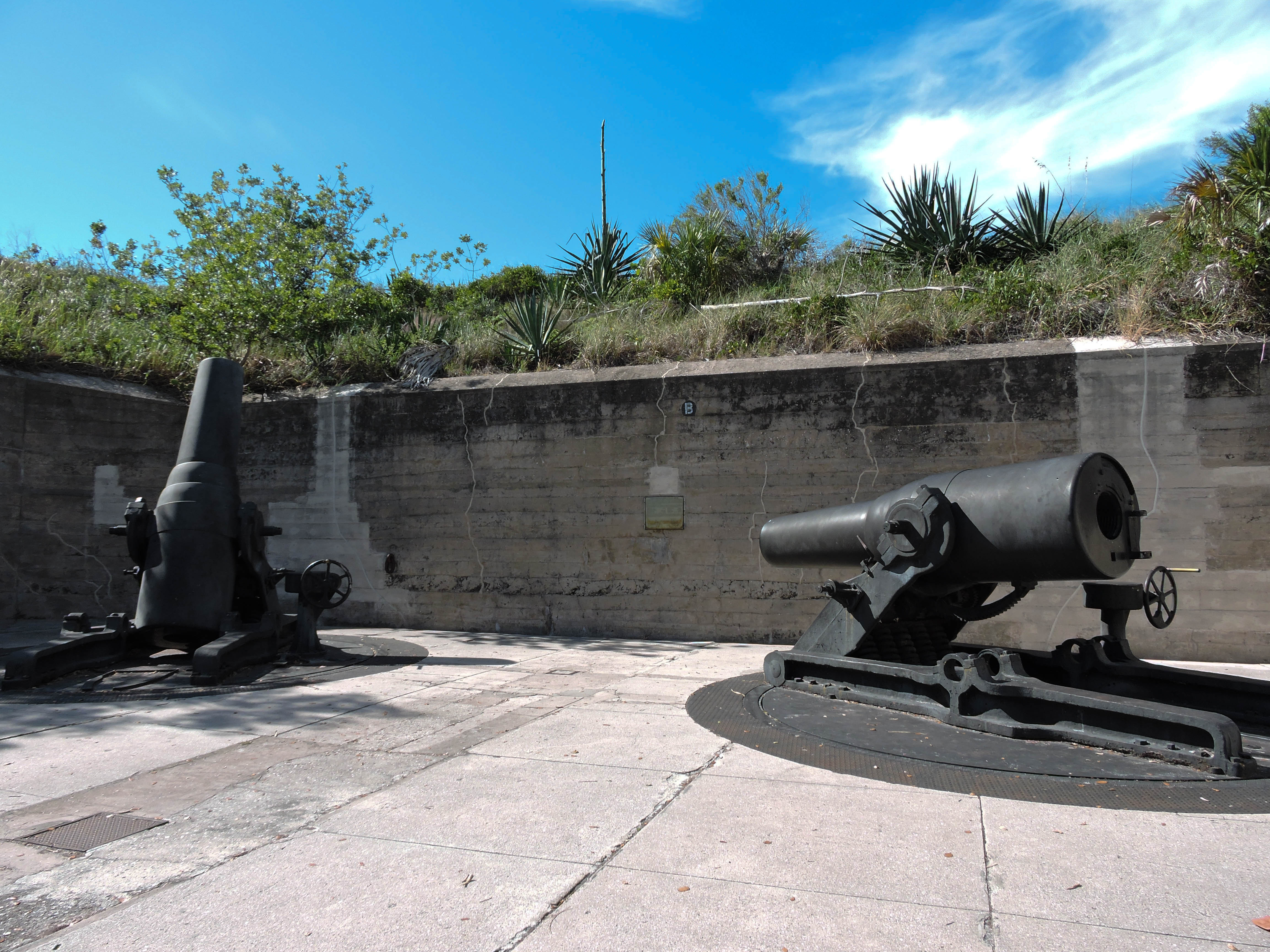 Fort de Soto Cannons
