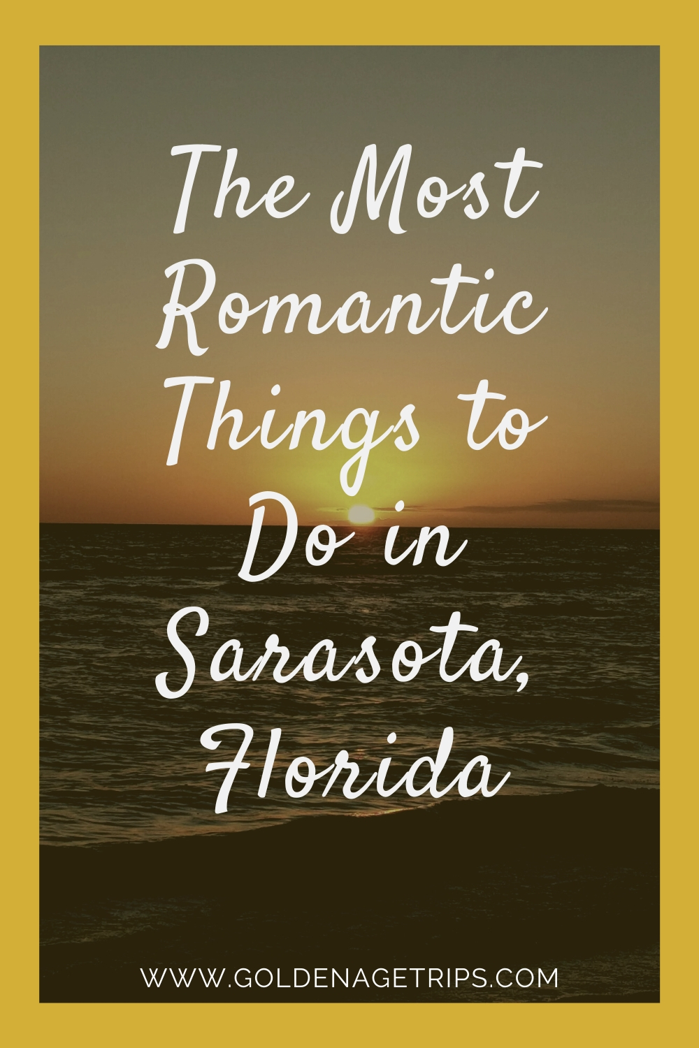 Looking for date ideas in Sarasota, Florida? Then, don't miss The Most Romantic Things to Do in Sarasota, Florida (USA) and its surrounding areas. From beautiful sunsets to outdoor concerts, and even cheese classes we hope our suggestions help you plan a great date. #sarasota #romantic
