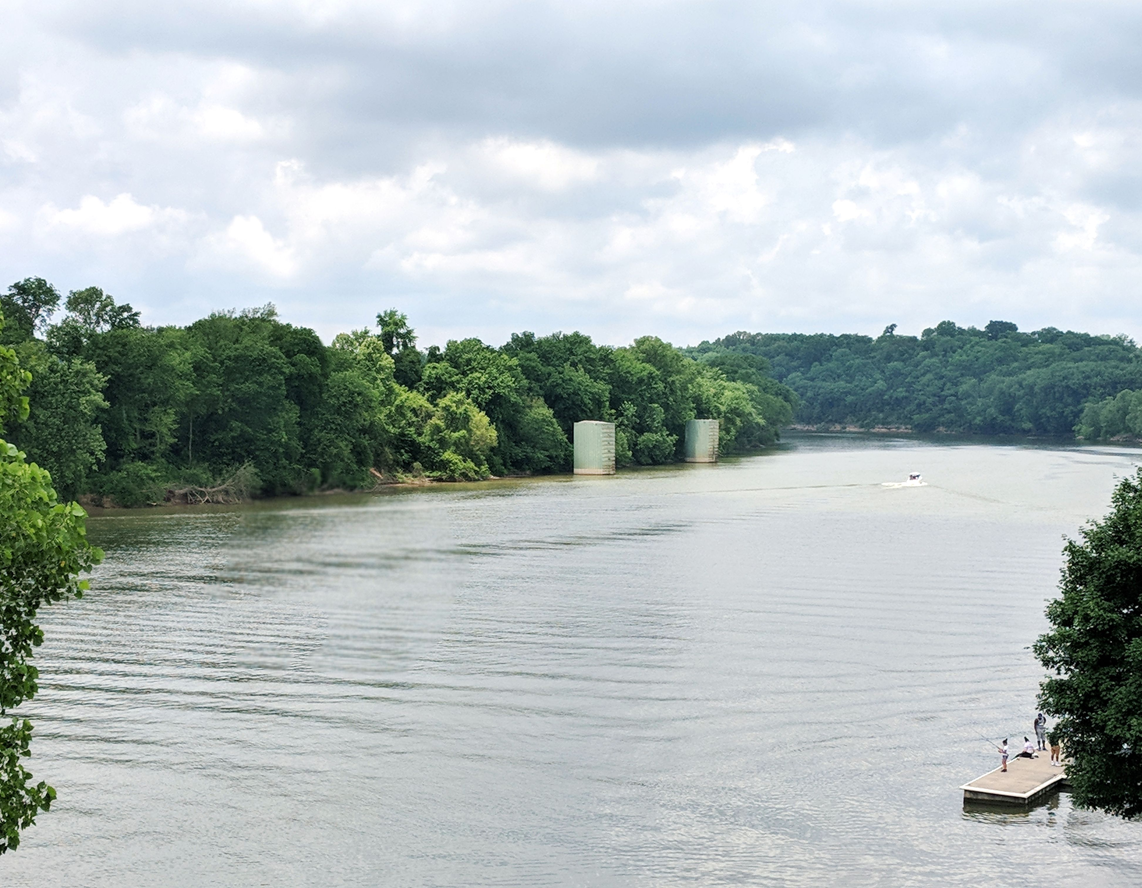 Cumberland River in Clarksville TN