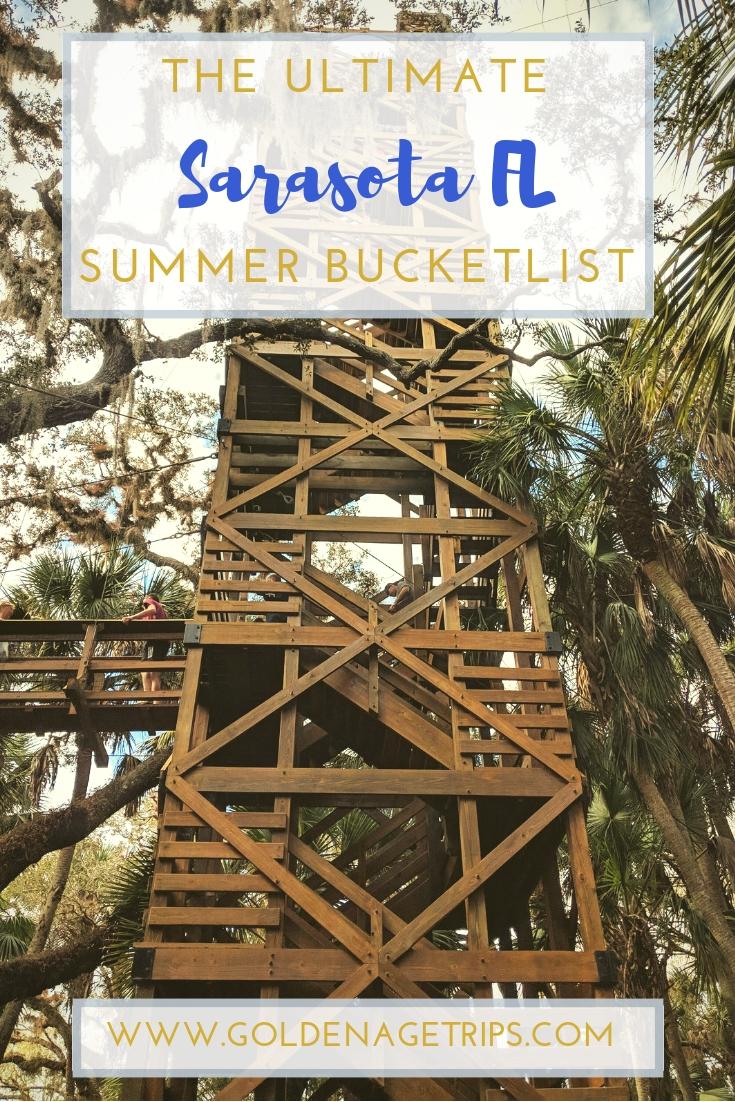 From beaches to restaurants, a farmer's market, museums, world-class shopping, and much more here is Sarasota, Florida (USA) Summer Bucketlist. #Sarasota #Florida #Summer