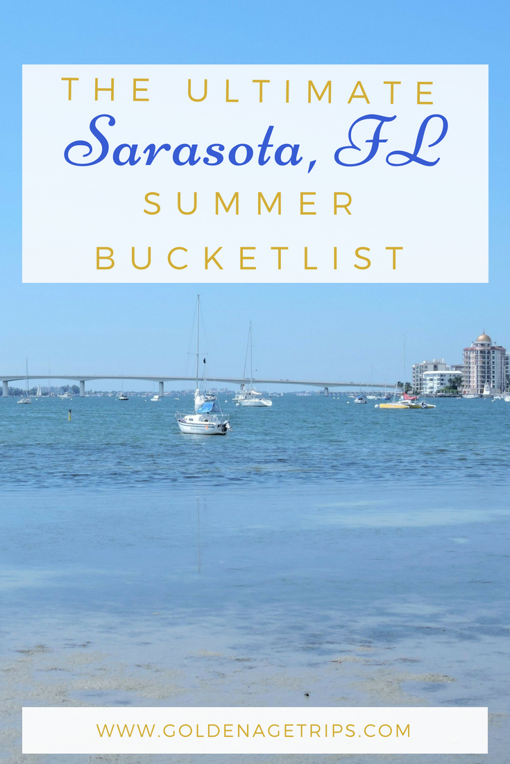 From beaches to restaurants, a farmer's market, museums, world-class shopping, and much more here is Sarasota, Florida (USA) Summer Bucketlist. #Sarasota #Florida #Summer