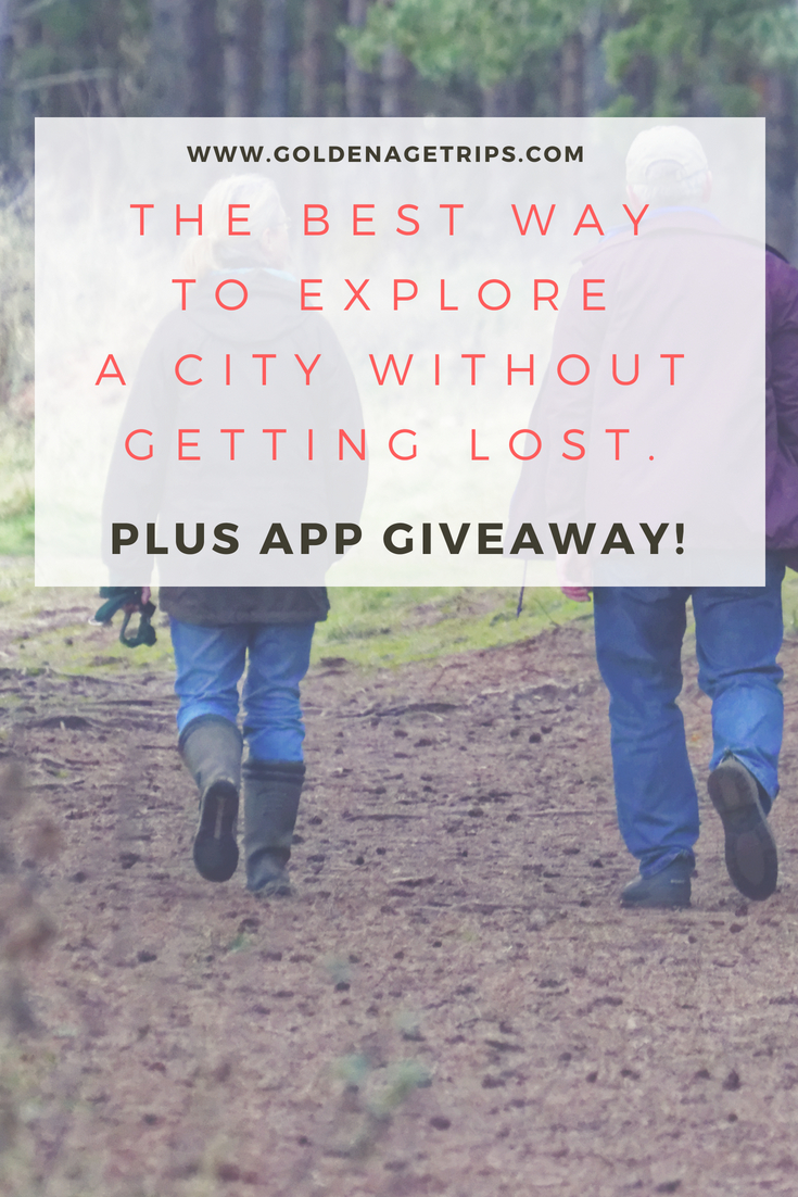 Visiting a new place locally or traveling to a new city doesn't need to be scary anymore. If you are looking for the best way to explore a city without getting lost, planning a self-guided walking tour will help you maximize your time and maybe even feel less anxious. #selfguidedtour #giveaway