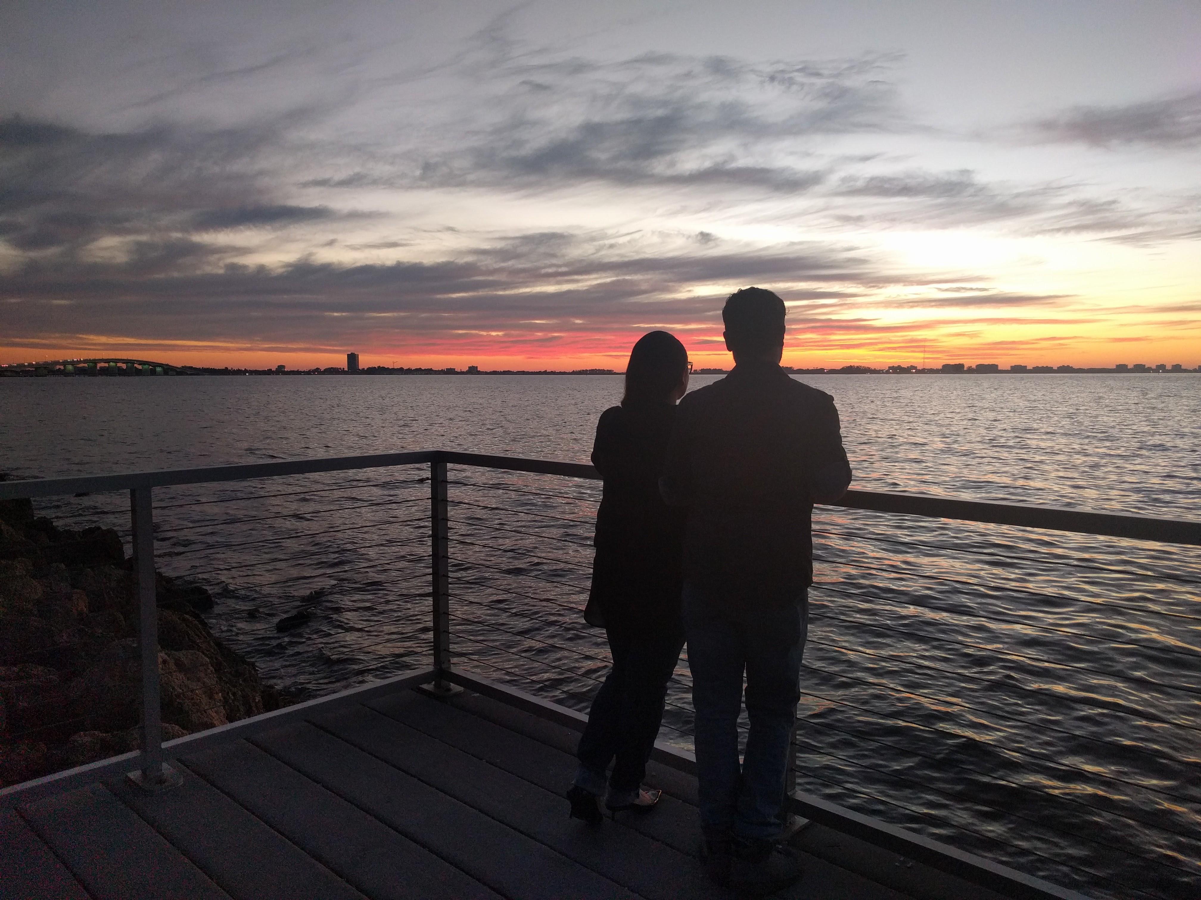 Van Wezel Sunset Sarasota