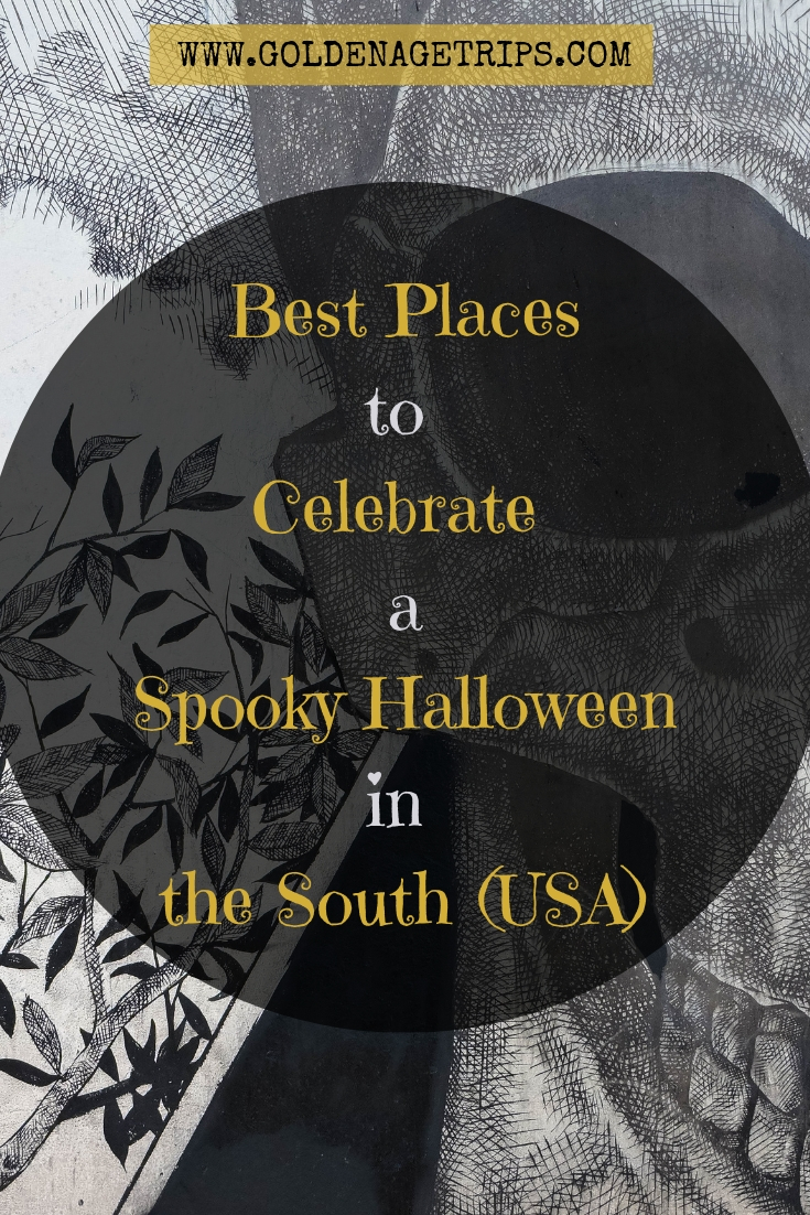 Best Places to Celebrate Halloween in the South - You might think that because the American South carries a reputation that people don't celebrate Halloween in the South. Well, you couldn't be more wrong. #Halloween #AmericanSouth #USA #South