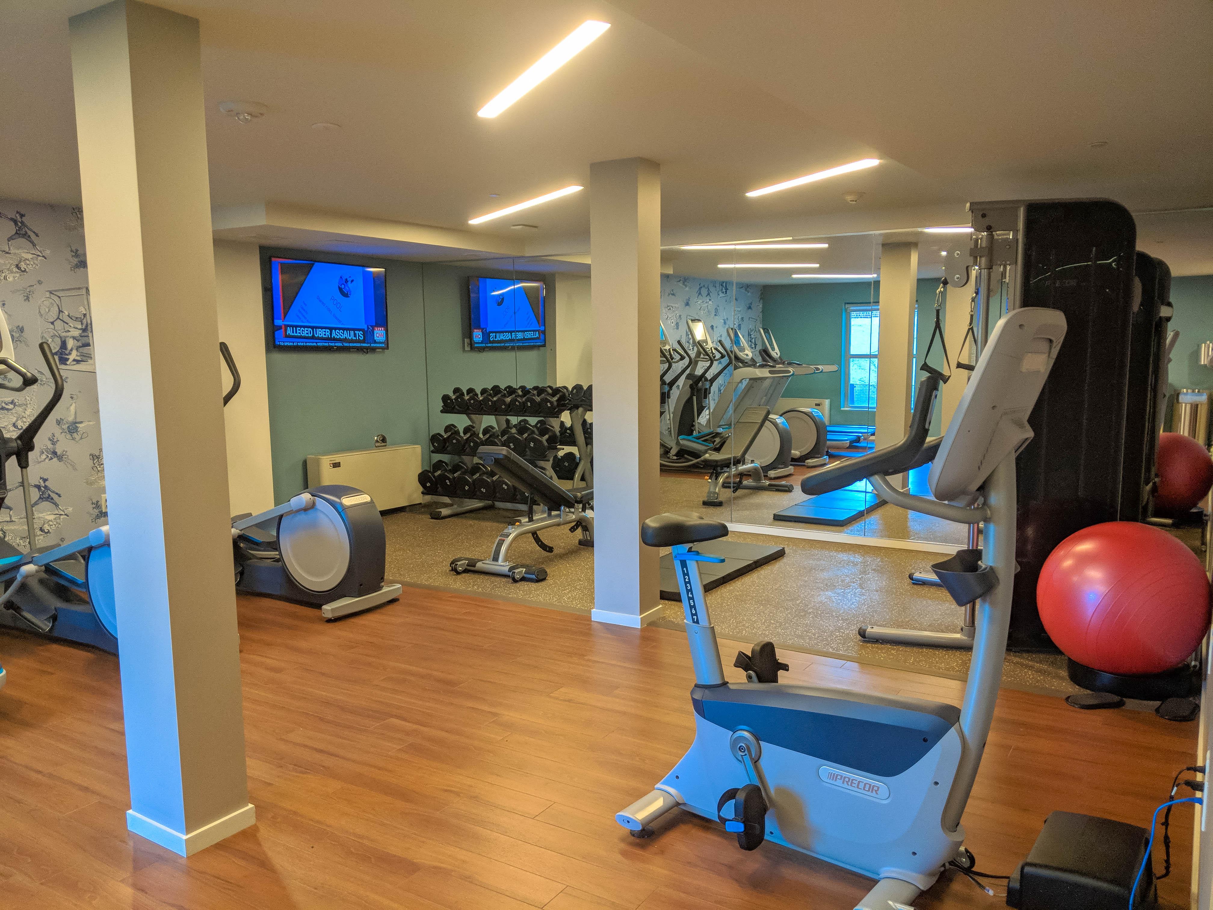 Hotel Indigo Old Alexandria Gym