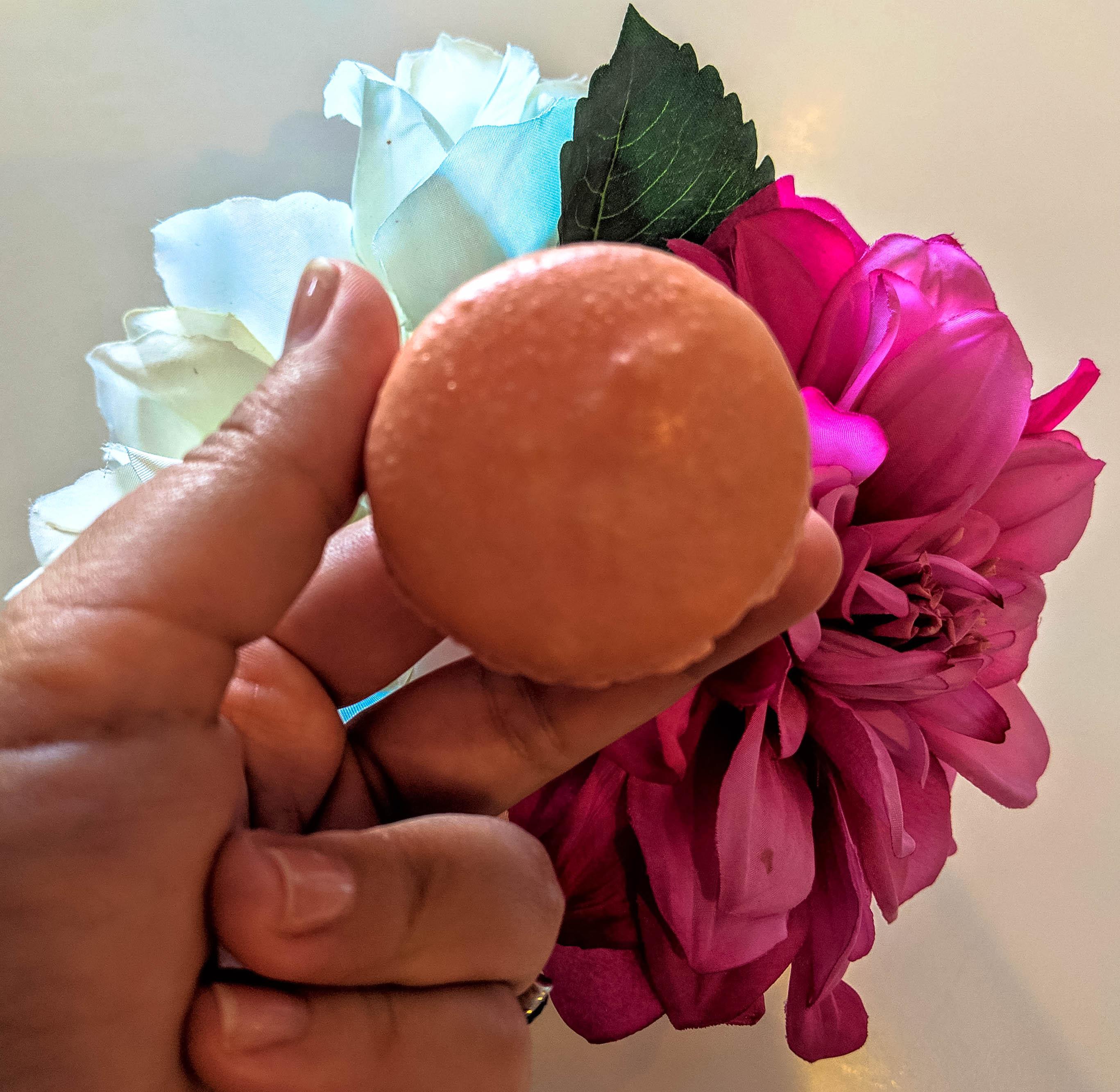 Rose Macaron - Le Macaron Saint Armands Sarasota FL