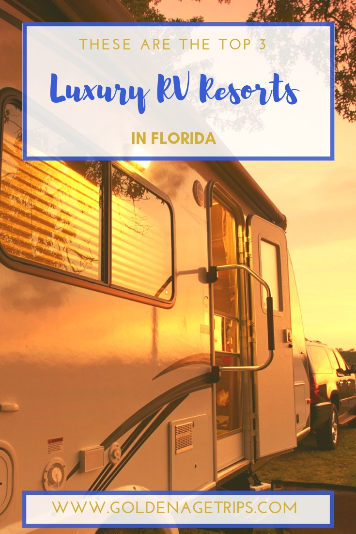 When you think about luxury, RVs are not the first thing that comes to mind. However, you'll need to check out these three luxury RV resorts in Florida. #rv #rvtravel #rvresorts #florida