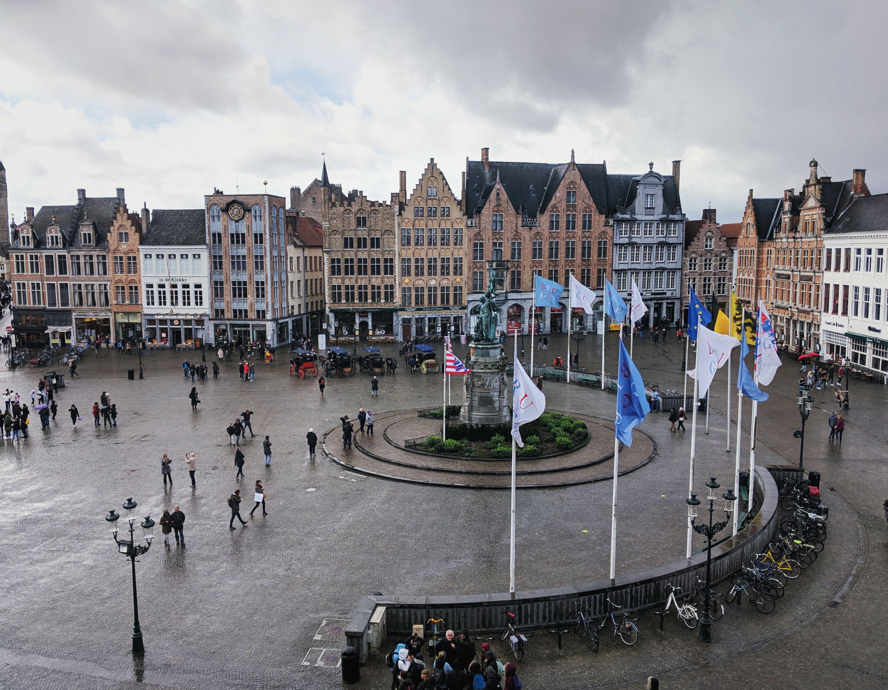 Historium Tower Bruges View