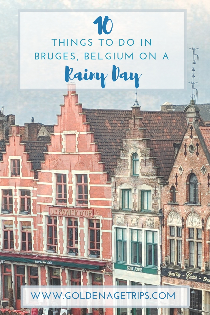 Bruges, Belgium. The Venice of the North. Here are 10 things to do in Bruges on a rainy day, in case your visit coincides with some liquid sunshine. #bruges #brugges #belgium #thingstodorainyday