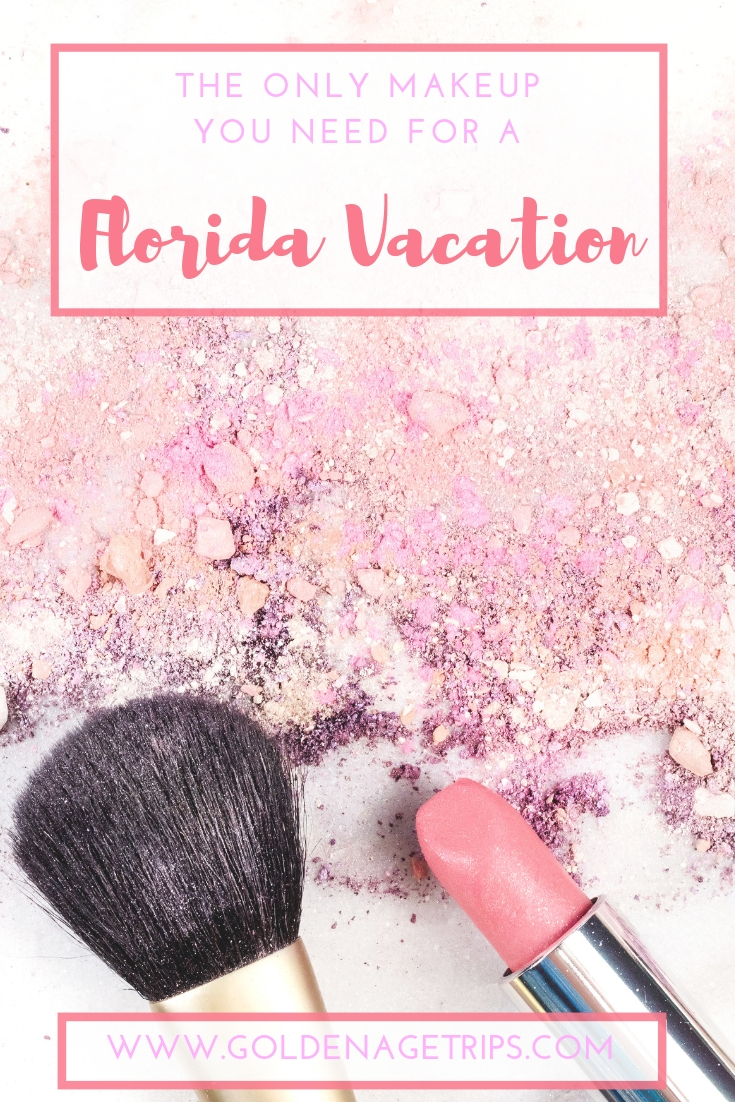 The Only Makeup You Need for a Florida Vacation -Traveling soon to Florida and wondering what makeup to bring with you? These are my top ten makeup products for Florida's hot and humid weather. #makeup #travel #travelmakeup #vacation #vacationmakeup