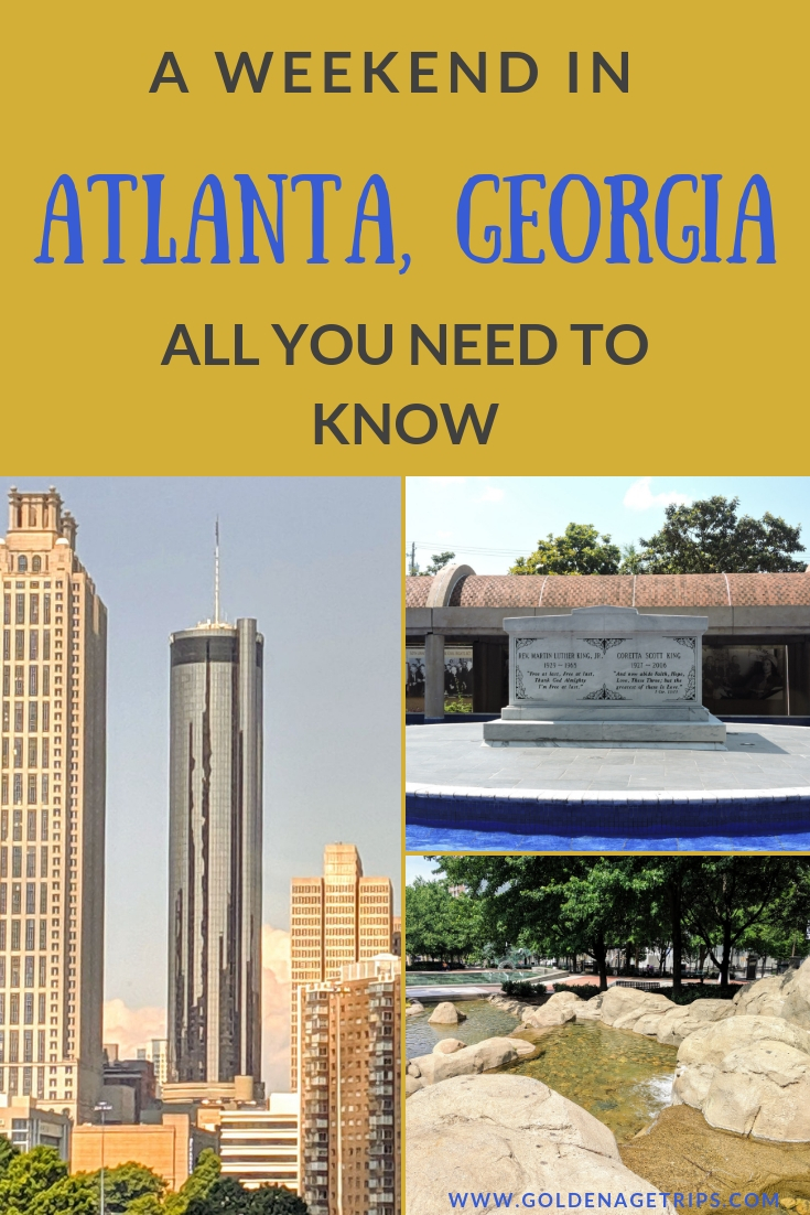 Spend a Weekend in Atlanta, Georgia discovering its history, delicious food, and fun things to do for children and adults. #atlanta #georgia #weekendatlanta #travel