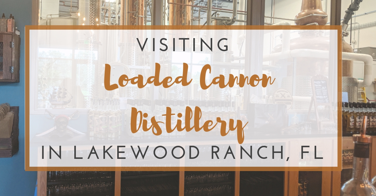 Visiting Loaded Cannon Distillery in Florida