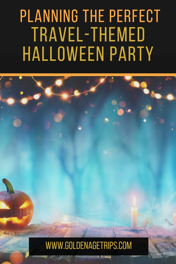If you decide to stay home for Halloween, why not plan a travel-themed Halloween party? Keep reading to find out all you need for an unforgettable party. #halloween #fall #partyplanning #party