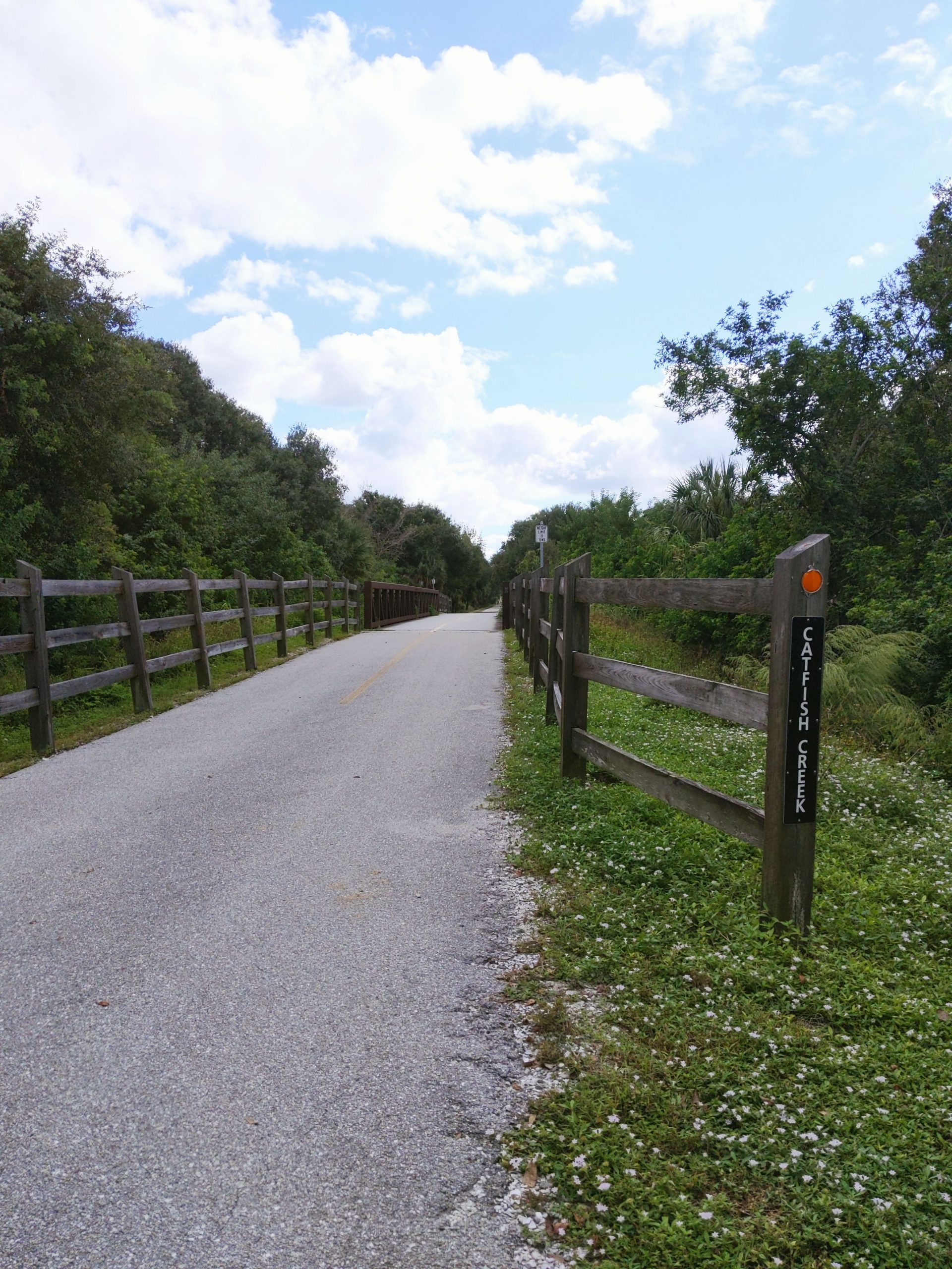 Catfish Creek Bridge at the Legacy Trail in Sarasota County
