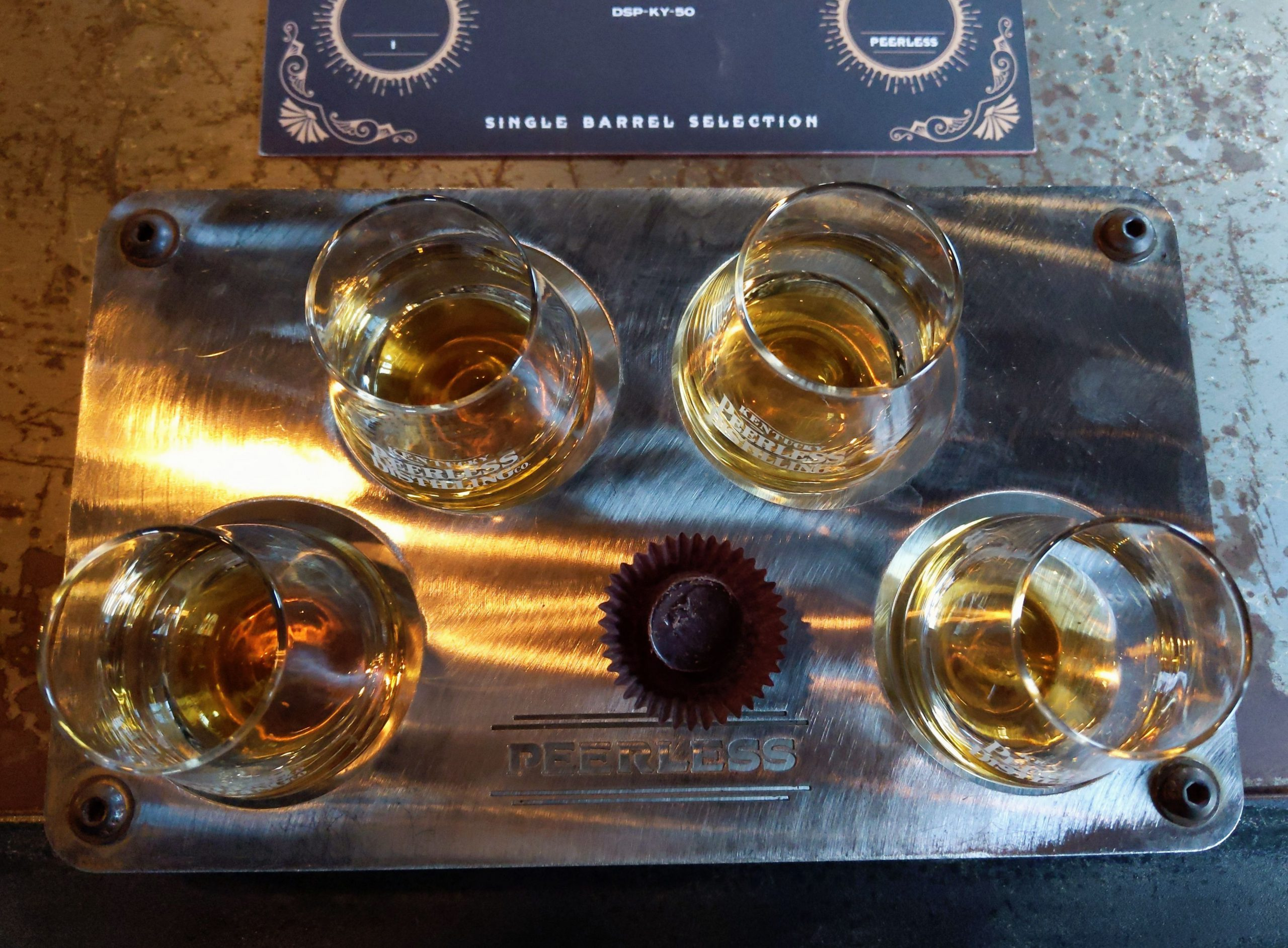 Peerless Distilling Single Barrel Tasting Selection