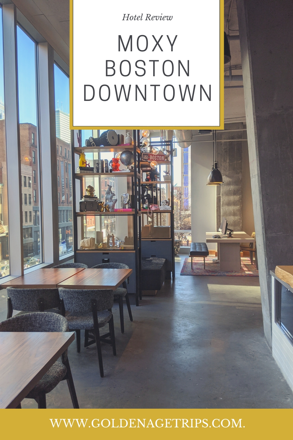 The Moxy Boston Downtown is one of the new additions to the Boston, MA skyline. In this review, we talk about its location, rooms, and facilities.#boston #hotelreview #bostonma #downtownboston